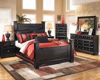 B271 Shay Almost Black Bedroom Set Signature Design by Ashley Furniture