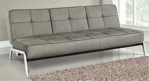 Logan Convertible Sofa Bed Ash by Lifestyle