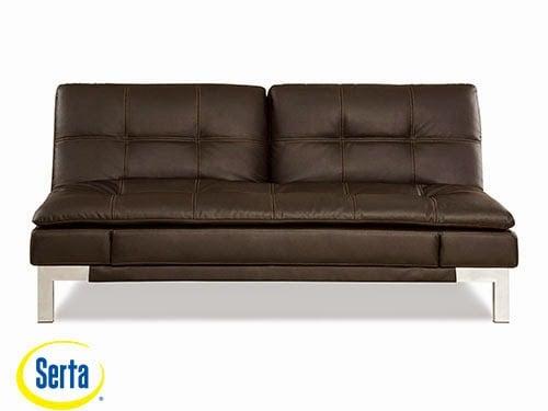 Valencia Convertible Sofa Java by Serta / Lifestyle
