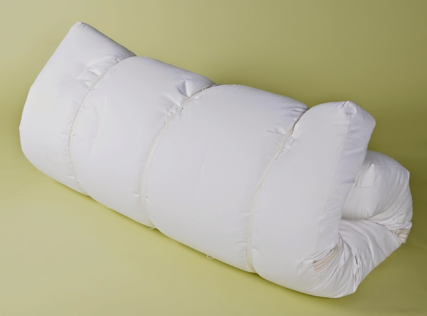 White Lotus Organic Cotton, Wool & Latex 6 inch Futon Mattress