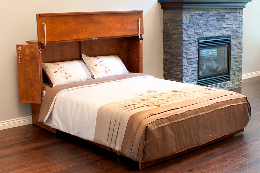 Cabinetbed murphy beds the space saving solution for any home for Space saving bed solutions